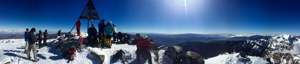 Toubkal Summit trekking Peaks