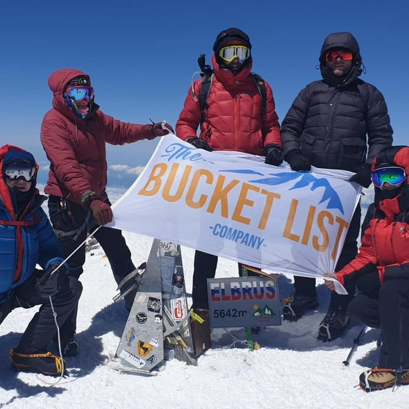 Mount Elbrus summit The Bucket List Company
