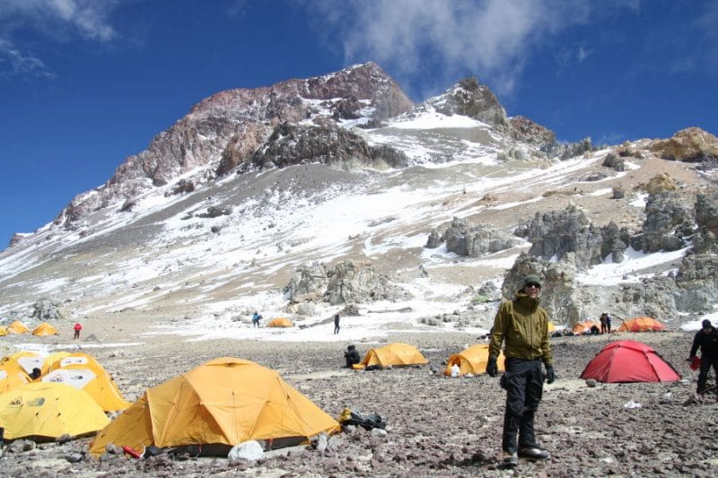 Aconcagua Camp Colera