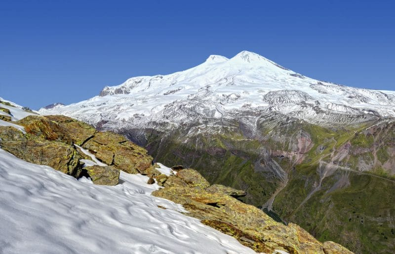 Mount Cheget on the Elbrus expedition