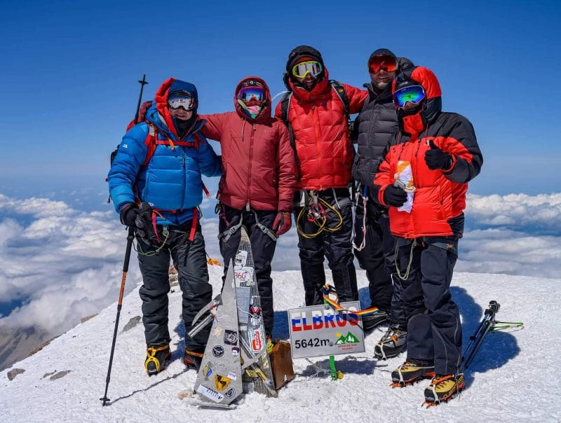 Mount Elbrus climbing