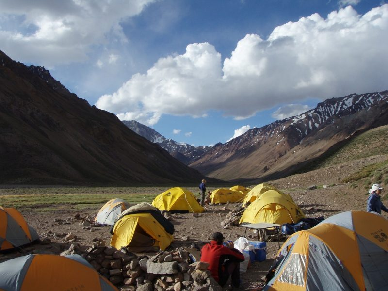 Aconcagua climb expedition