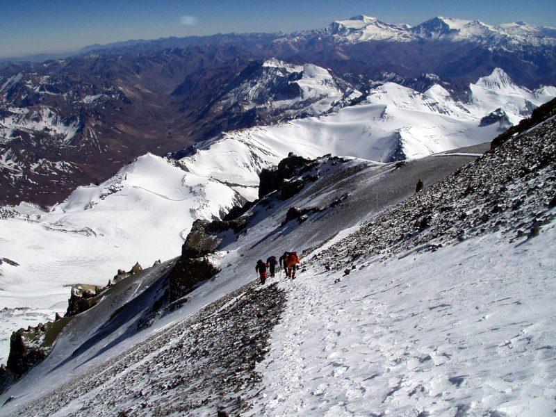 Hiking Aconcagua