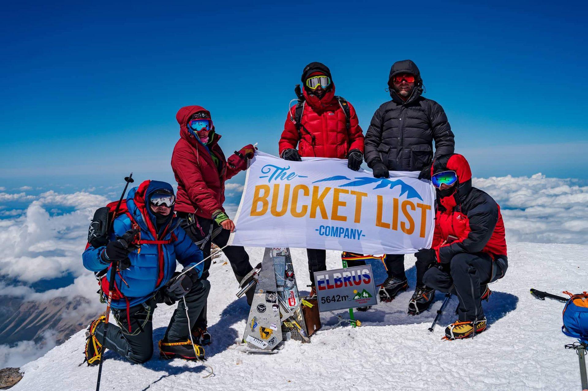 Top of Mount Elbrus