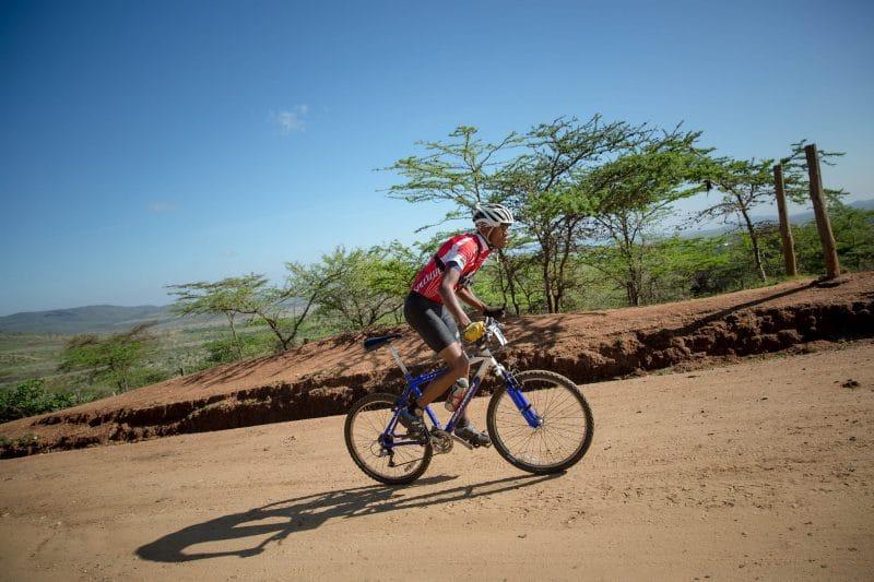 Kilimanjaro cycling trip Tanzania