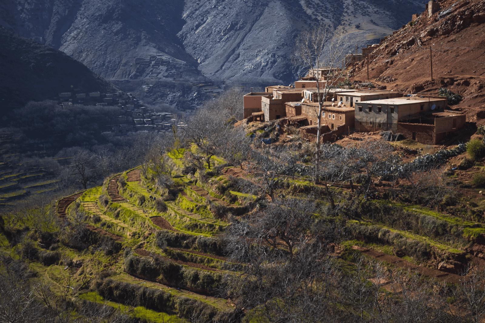 Mount Toubkal trek - Imlil hills