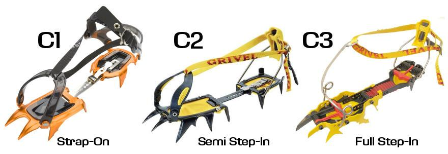 Crampons for high altitude trekking