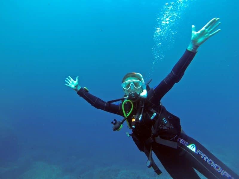 Gozo PADI dive master course
