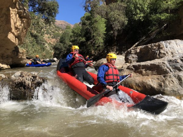 White Water Rafting in Morocco