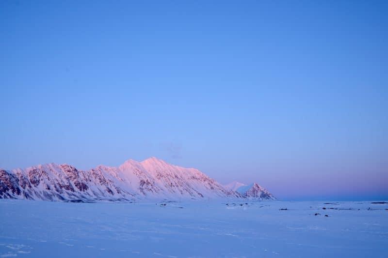 Isfjord Radio sledding trip