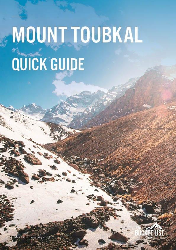 Mount Toubkal Trek Free Guide