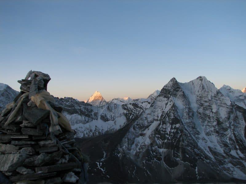 Island Peak trek Nepal