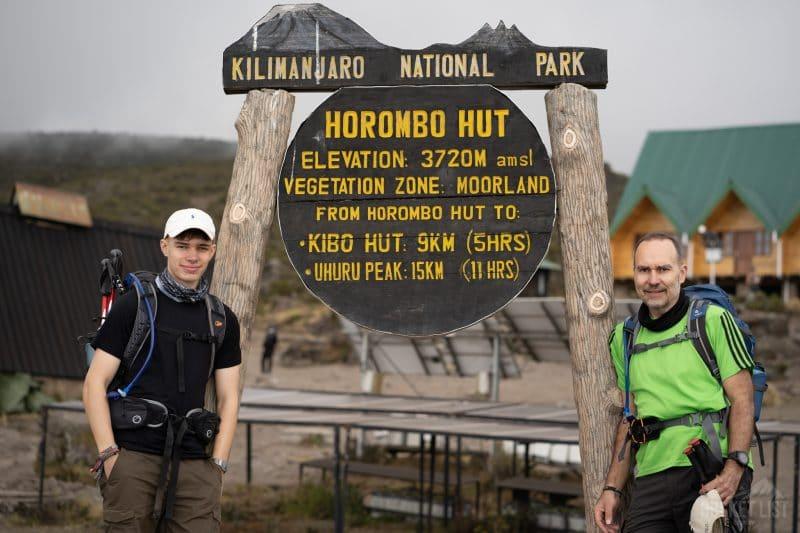 Horombo Huts - Kilimanjaro trek