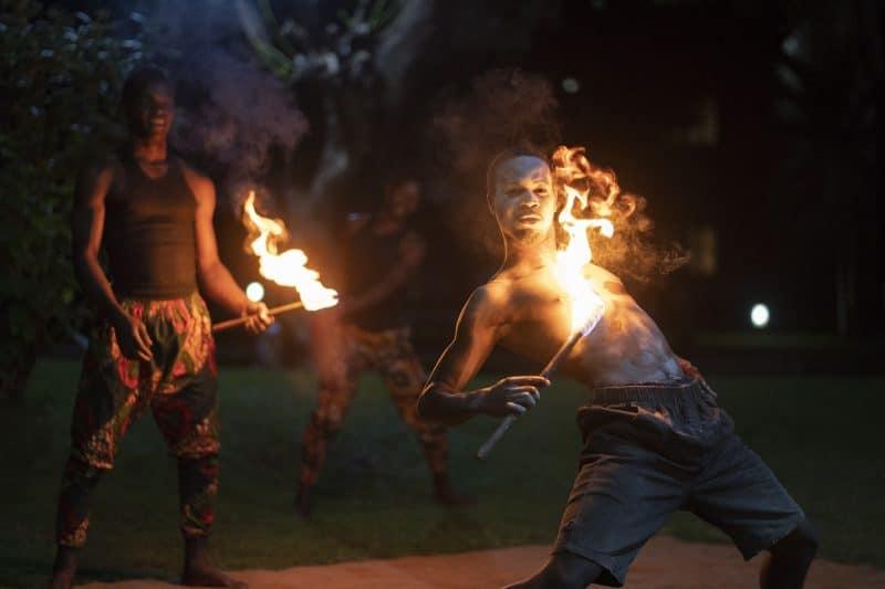 Tanzanian cultural performance