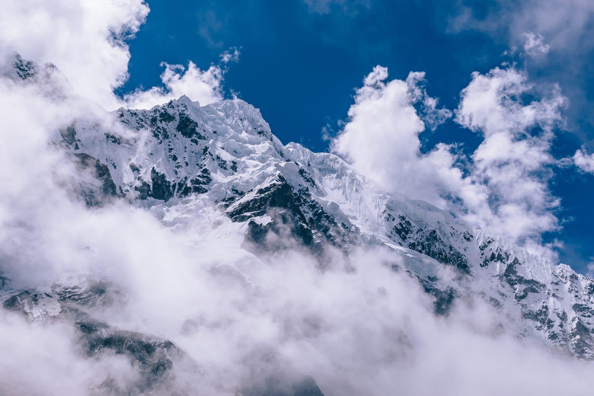 Salkantay trek views