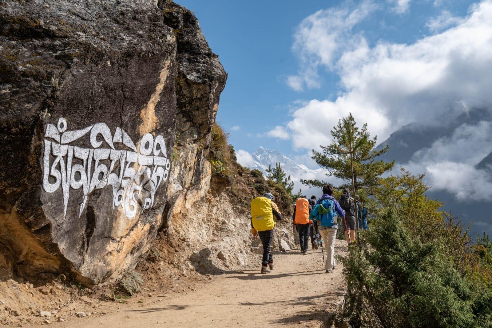 Everest Base Camp trek October 2018