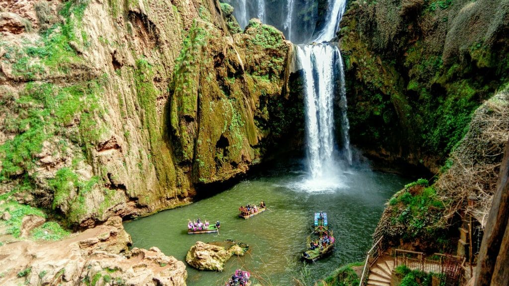 Waterfalls in Morocco
