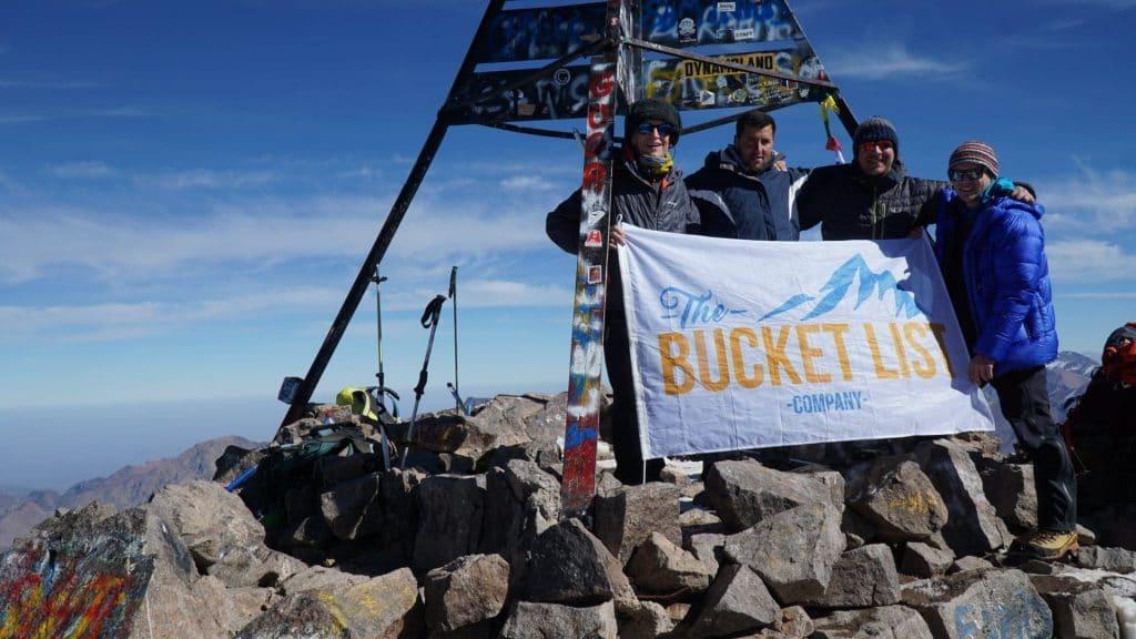 Summit of Mount Toubkal