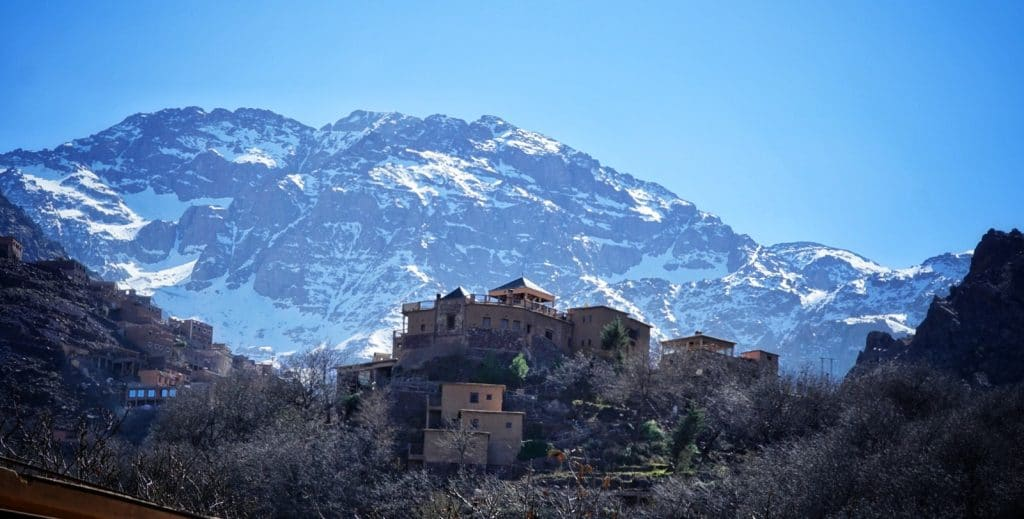 How high is mount toubkal