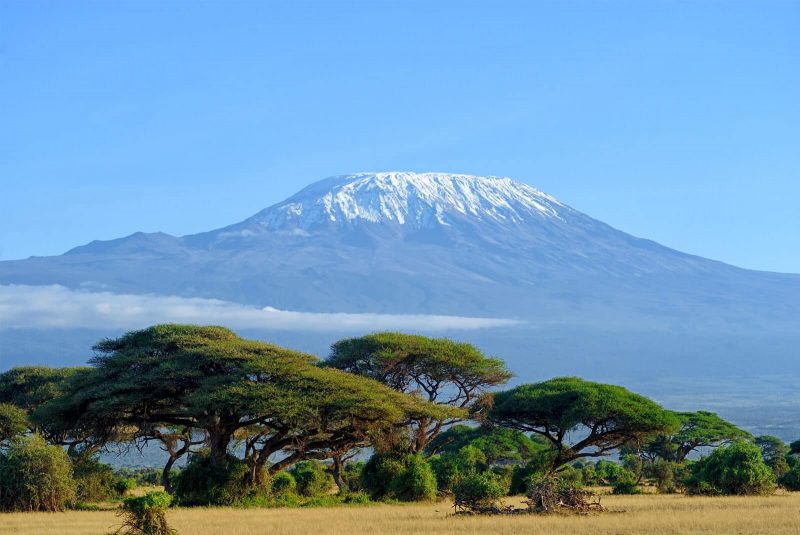 Kilimanjaro cycling trip