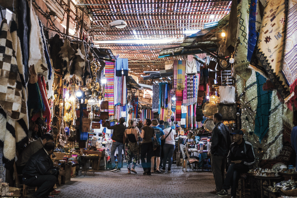 Marrakech souks - trips to Morocco
