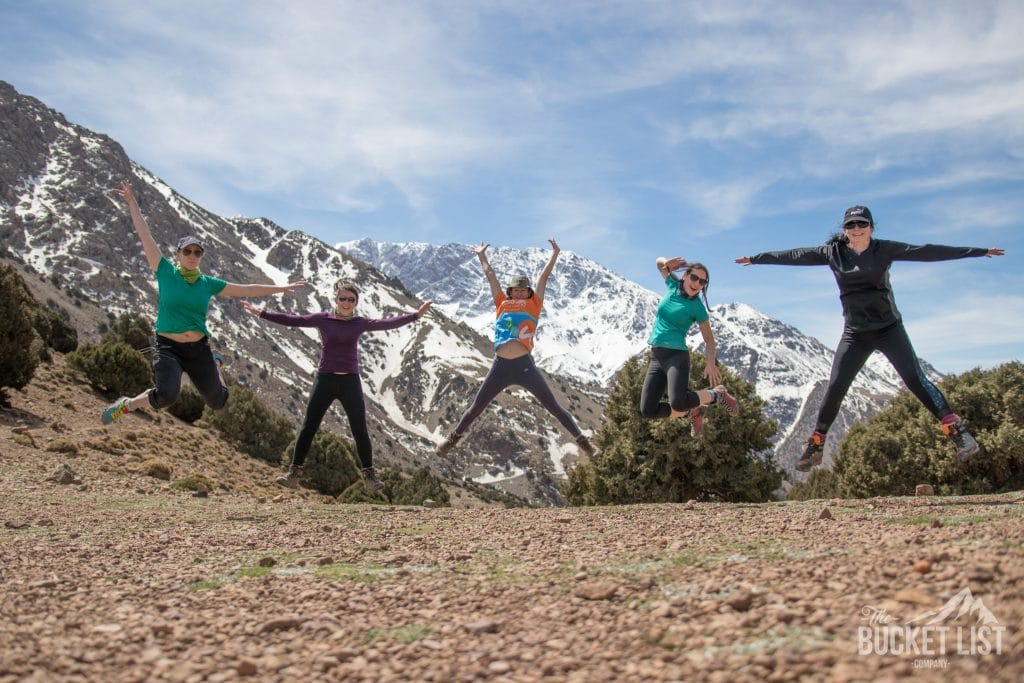 Trekking in the Morocco High Atlas Mountains