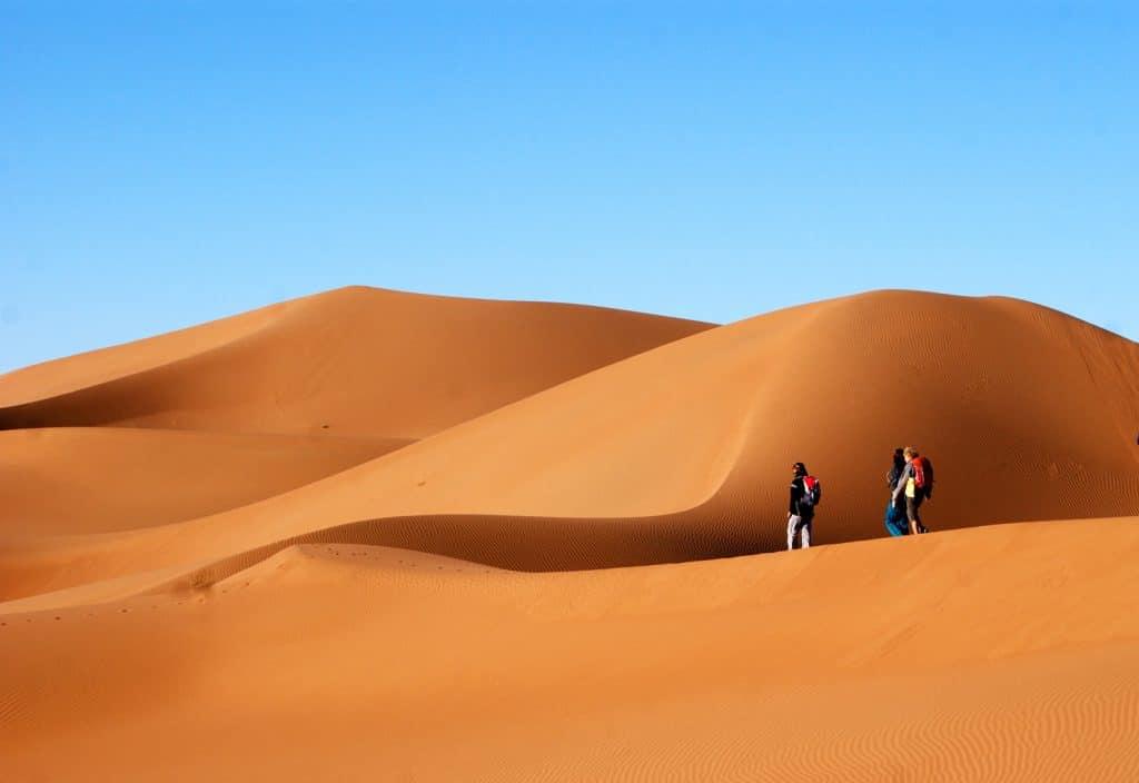 Sahara Desert Trek, Morocco