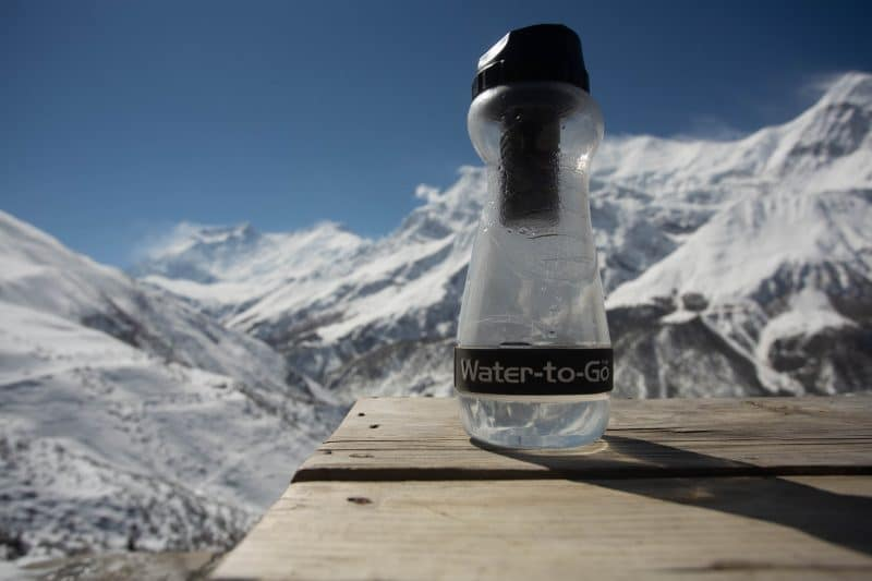 Filtering Water-To-Go bottle