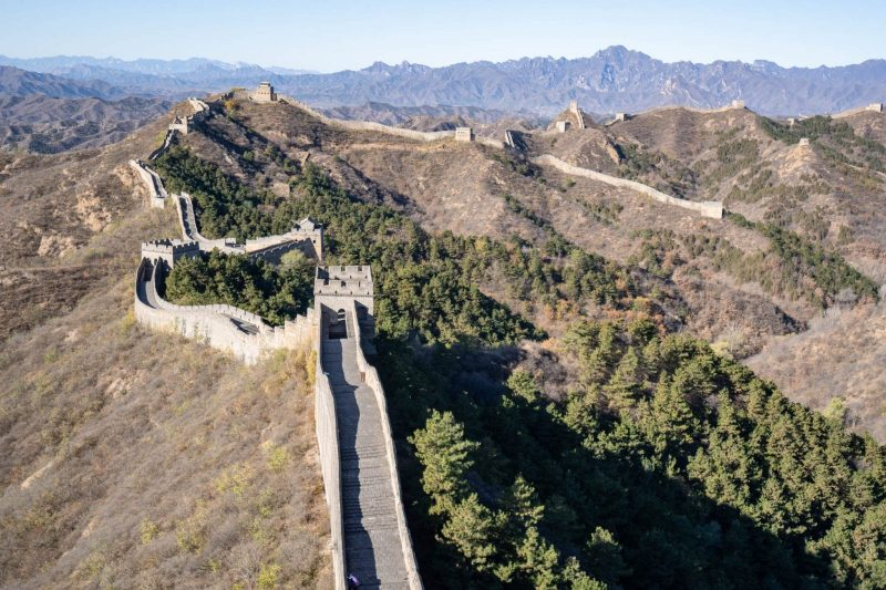 Trekking the Great Wall of China