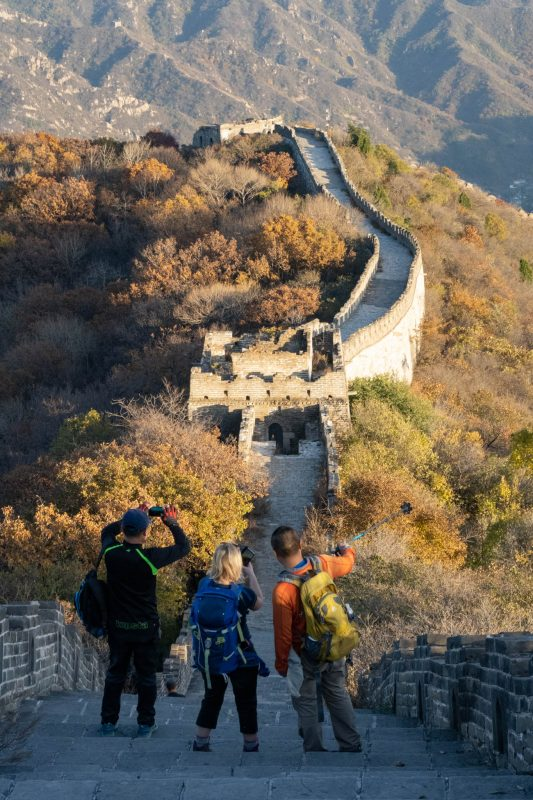 Great Wall of China trekking
