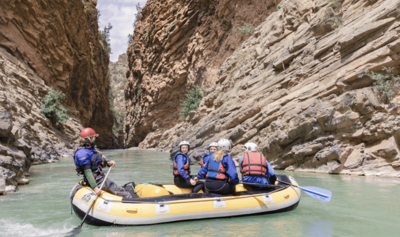 Morocco white water rafting
