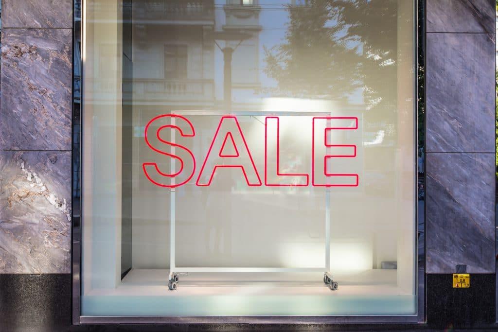 Sale on outdoor gear