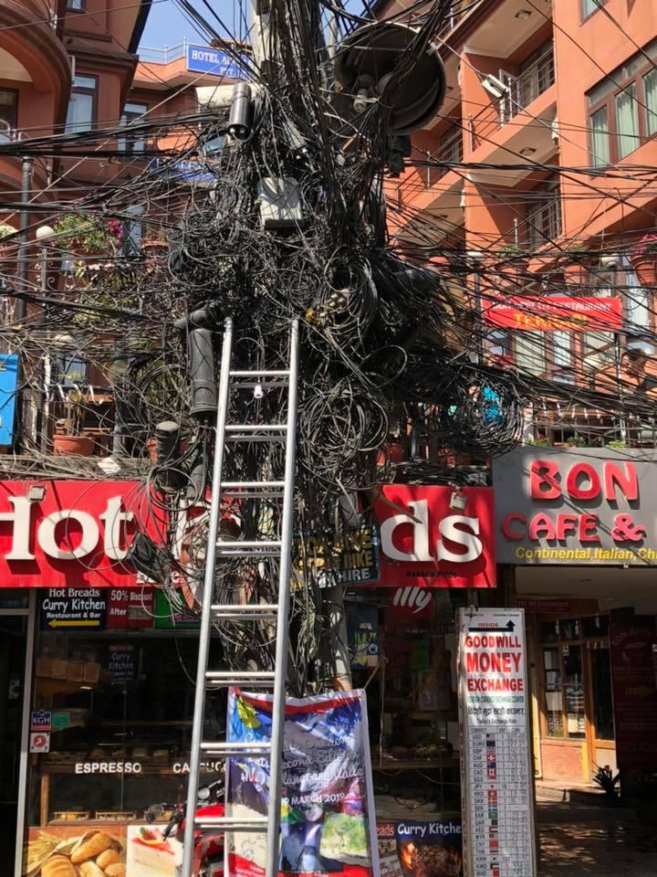 Electrics in Kathmandu