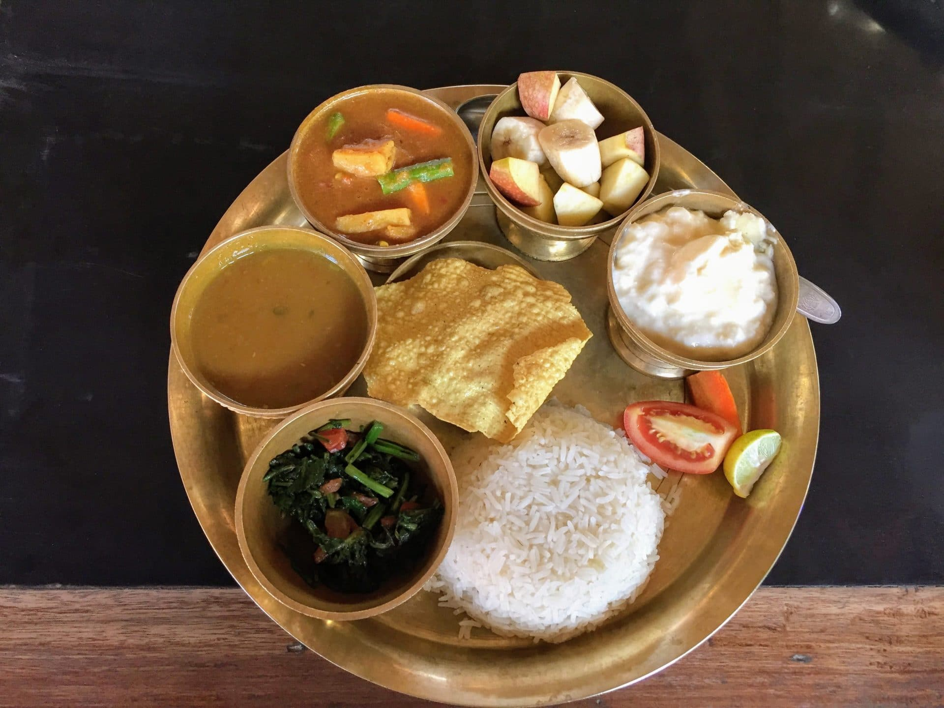 Dal Baht power - food in Nepal