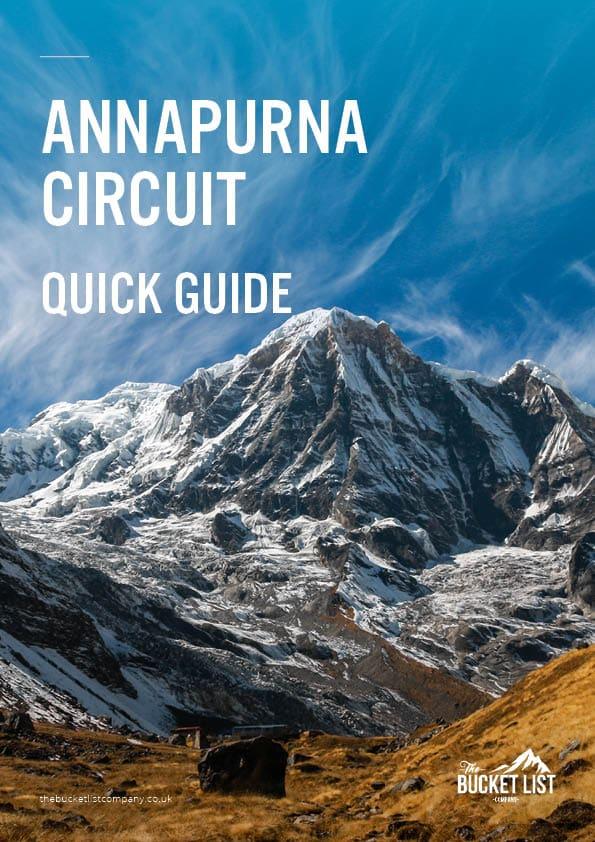 Annapurna Circuit Trek Free Guide