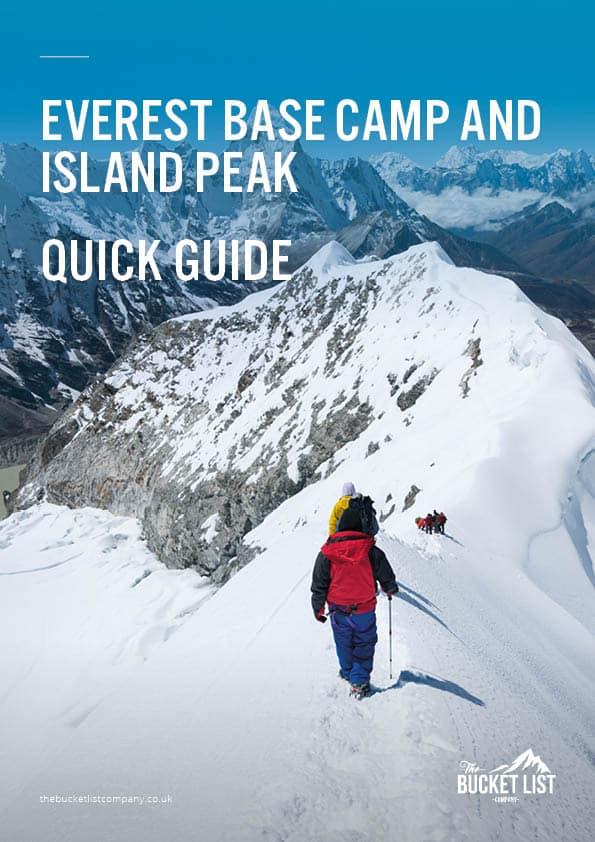 Everest Base Camp & Island Peak Free Guide