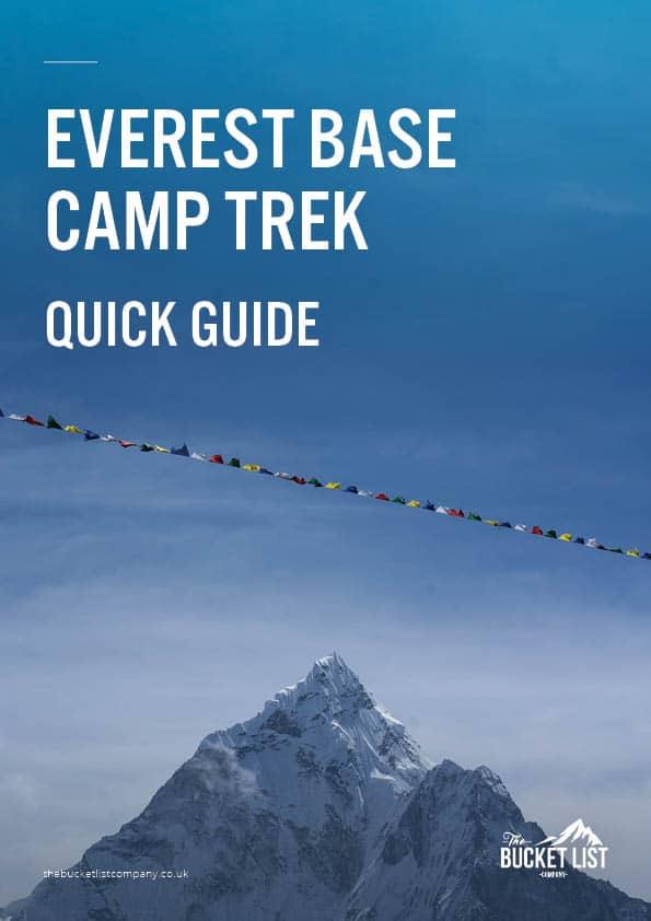 Everest Base Camp Trek Free Guide