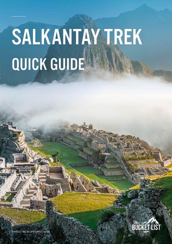 Salkantay Trek to Machu Picchu Free Guide