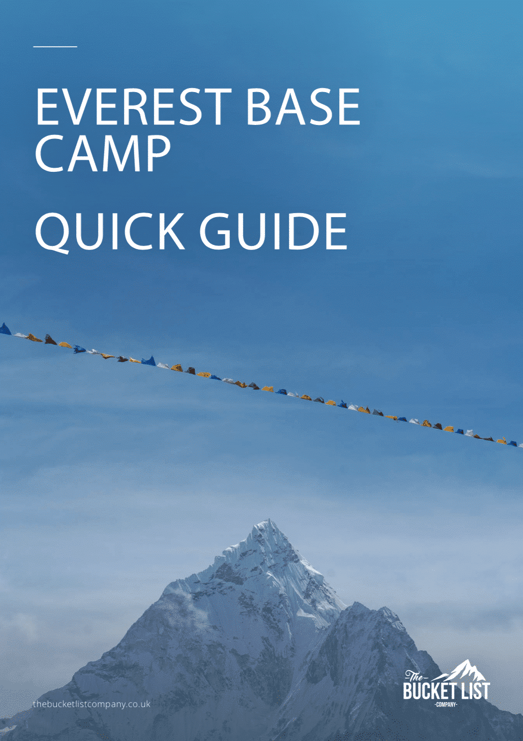 Everest Base Camp quick guide