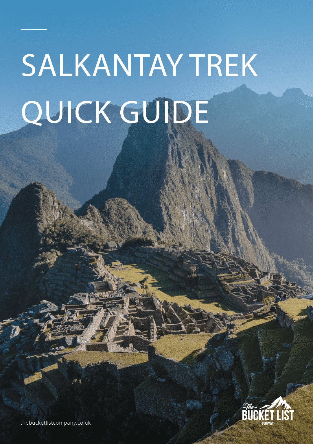 Salkantay Trek to Machu Picchu Free Guide