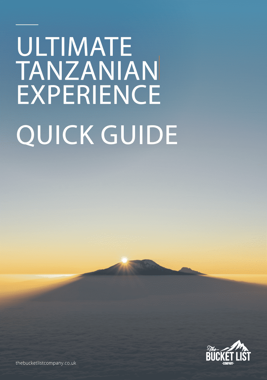 Ultimate Tanzanian Experience Free Guide