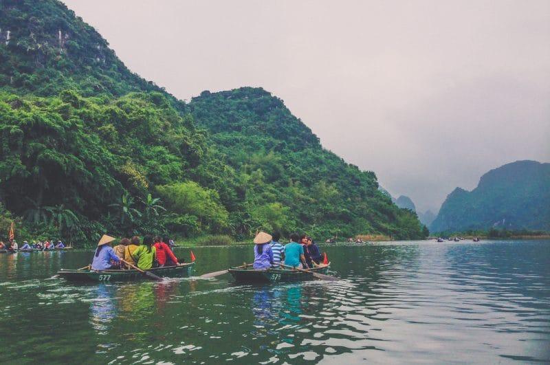 Coconut Village boat ride