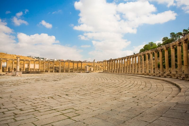 Jerash Jordan archaeological tour
