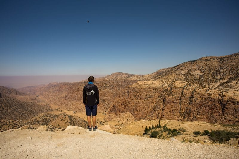 Dana Biosphere Reserve trek in Jordan
