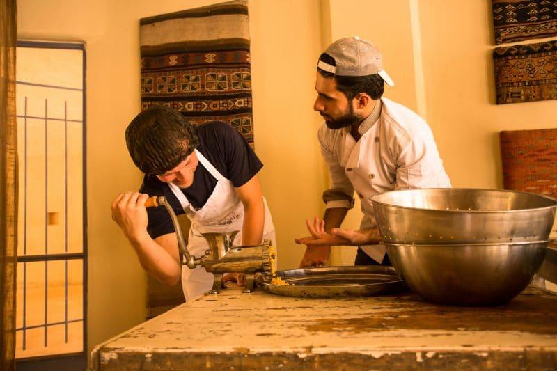 Feynan Ecolodge Bedouin Cooking Experience Jordan