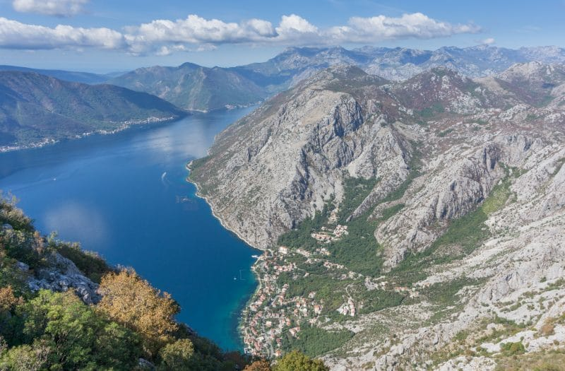 Montenegro active holiday - Bay of Kotor