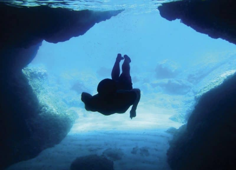 Croatia outdoor adventure tour - Green Cave snorkelling