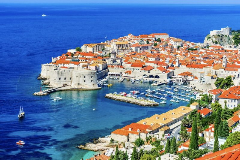 Croatia outdoor adventure - Dubrovnik Old Town