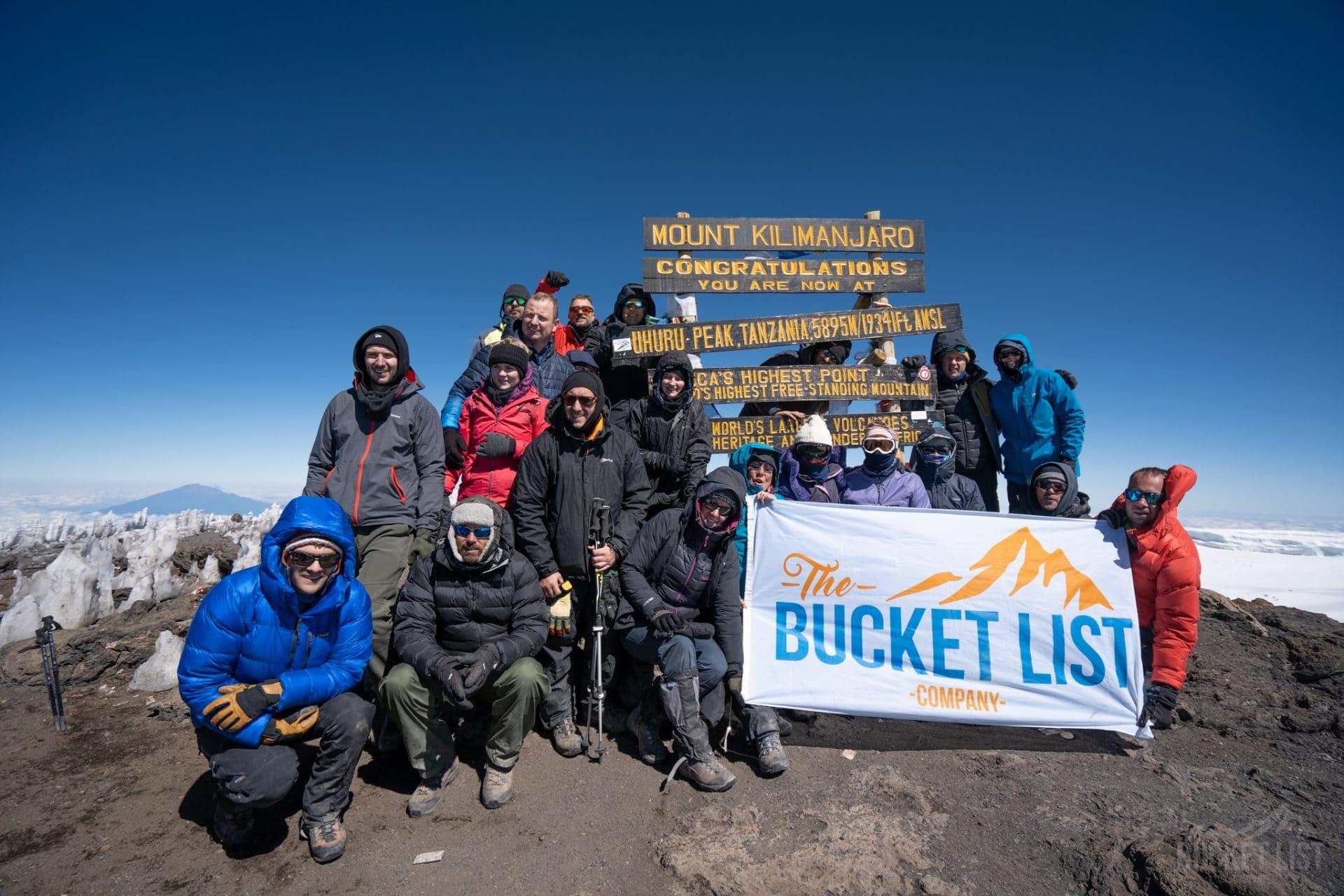 Climbing Kilimanjaro named world's top adventure