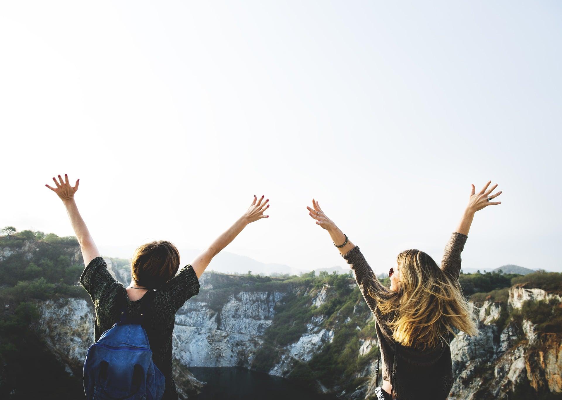 Adventure travel friends